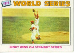 1977 Topps Baseball Cards      413     Cincy Wins WS