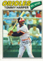 1977 Topps Baseball Cards      414     Tommy Harper