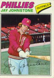 1977 Topps Baseball Cards      415     Jay Johnstone