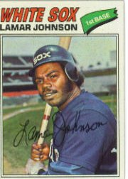 1977 Topps Baseball Cards      443     Lamar Johnson