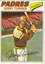 1977 Topps Baseball Cards      447     Jerry Turner