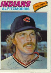 1977 Topps Baseball Cards      449     Al Fitzmorris