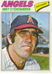 1977 Topps Baseball Cards      454     Andy Etchebarren