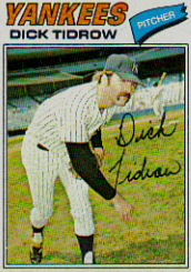 1977 Topps Baseball Cards      461     Dick Tidrow