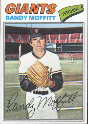 1977 Topps Baseball Cards      464     Randy Moffitt