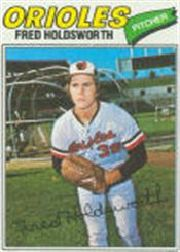 1977 Topps Baseball Cards      466     Fred Holdsworth