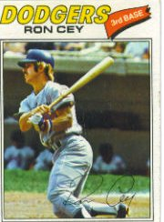 1977 Topps Baseball Cards      050      Ron Cey
