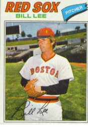 1977 Topps Baseball Cards      503     Bill Lee