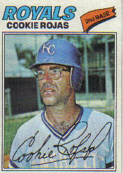 1977 Topps Baseball Cards      509     Cookie Rojas