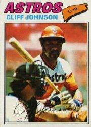 1977 Topps Baseball Cards      514     Cliff Johnson
