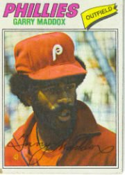 1977 Topps Baseball Cards      520     Garry Maddox