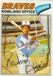1977 Topps Baseball Cards      524     Rowland Office
