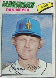 1977 Topps Baseball Cards      527     Dan Meyer