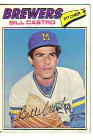 1977 Topps Baseball Cards      528     Bill Castro