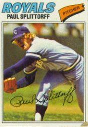 1977 Topps Baseball Cards      534     Paul Splittorff