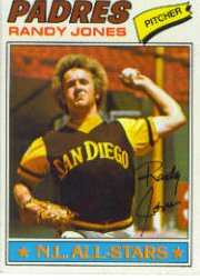 1977 Topps Baseball Cards      550     Randy Jones