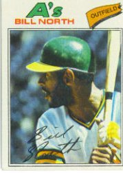 1977 Topps Baseball Cards      551     Bill North
