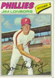 1977 Topps Baseball Cards      569     Jim Lonborg