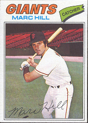 1977 Topps Baseball Cards      057      Marc Hill