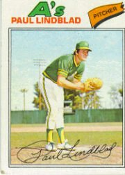 1977 Topps Baseball Cards      583     Paul Lindblad