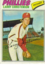 1977 Topps Baseball Cards      059      Larry Christenson