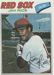 1977 Topps Baseball Cards      060      Jim Rice