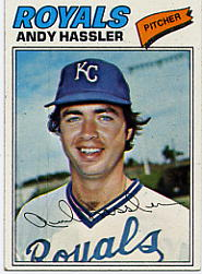 1977 Topps Baseball Cards      602     Andy Hassler