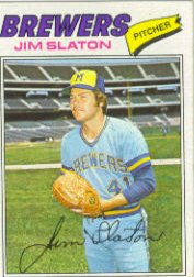 1977 Topps Baseball Cards      604     Jim Slaton