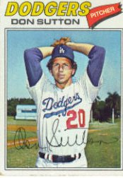 1977 Topps Baseball Cards      620     Don Sutton