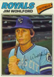 1977 Topps Baseball Cards      622     Jim Wohlford