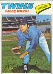 1977 Topps Baseball Cards      643     Mike Pazik