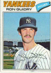 1977 Topps Baseball Cards      656     Ron Guidry