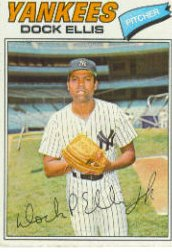 1977 Topps Baseball Cards      071      Dock Ellis