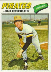 1977 Topps Baseball Cards      082      Jim Rooker