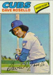 1977 Topps Baseball Cards      092      Dave Rosello