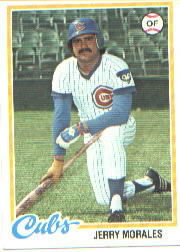 1978 Topps Baseball Cards      175     Jerry Morales