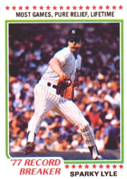 1978 Topps Baseball Cards      002       Sparky Lyle RB