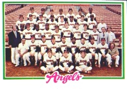 1978 Topps Baseball Cards      214     California Angels CL