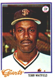 1978 Topps Baseball Cards      236     Terry Whitfield