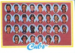 1978 Topps Baseball Cards      302     Chicago Cubs CL