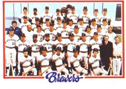1978 Topps Baseball Cards      328     Milwaukee Brewers CL