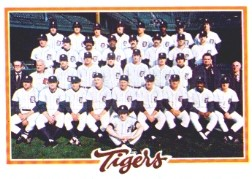 1978 Topps Baseball Cards      404     Detroit Tigers CL
