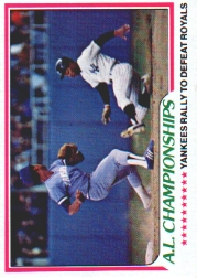 1978 Topps Baseball Cards      411     Mickey Rivers ALCS