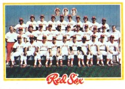1978 Topps Baseball Cards      424     Boston Red Sox CL