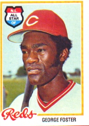 1978 Topps Baseball Cards      500     George Foster