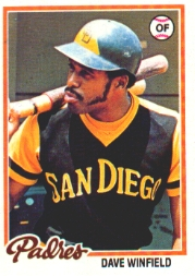 1978 Topps Baseball Cards      530     Dave Winfield