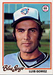 1978 Topps Baseball Cards      573     Luis Gomez