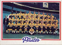 1978 Topps Baseball Cards      606     Pittsburgh Pirates CL
