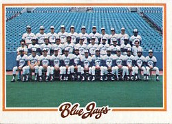 1978 Topps Baseball Cards      626     Toronto Blue Jays CL DP