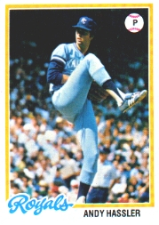 1978 Topps Baseball Cards      073      Andy Hassler